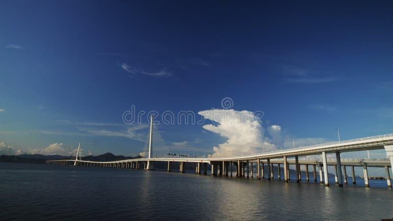 Bridge in Shenzhen, China stock photo