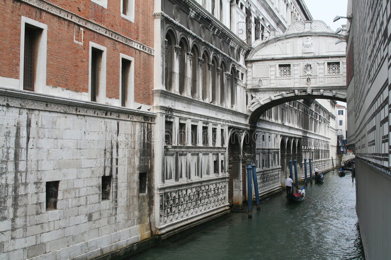 Download The Bridge Of Sighs Stock Photo - Image: 1446790