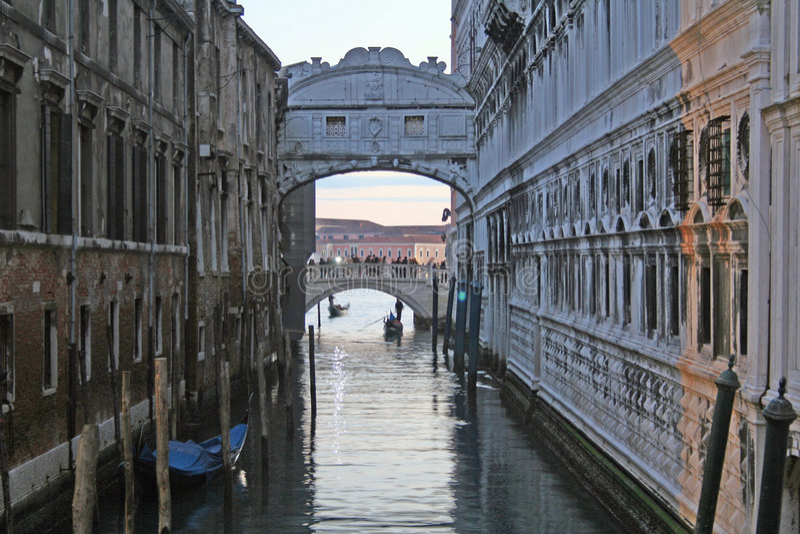 Download Bridge of sighs stock image. Image of trip, church, water - 1830223