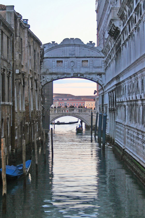 Download Bridge of sighs stock image. Image of serenissima, ancient - 1830229