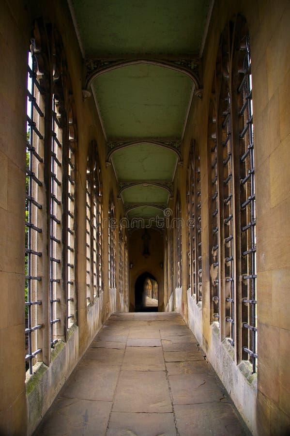 Bridge of Sighs, Cambridge stock photo
