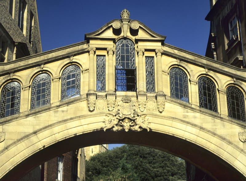 Bridge of Sighs, Oxford royalty free stock photo