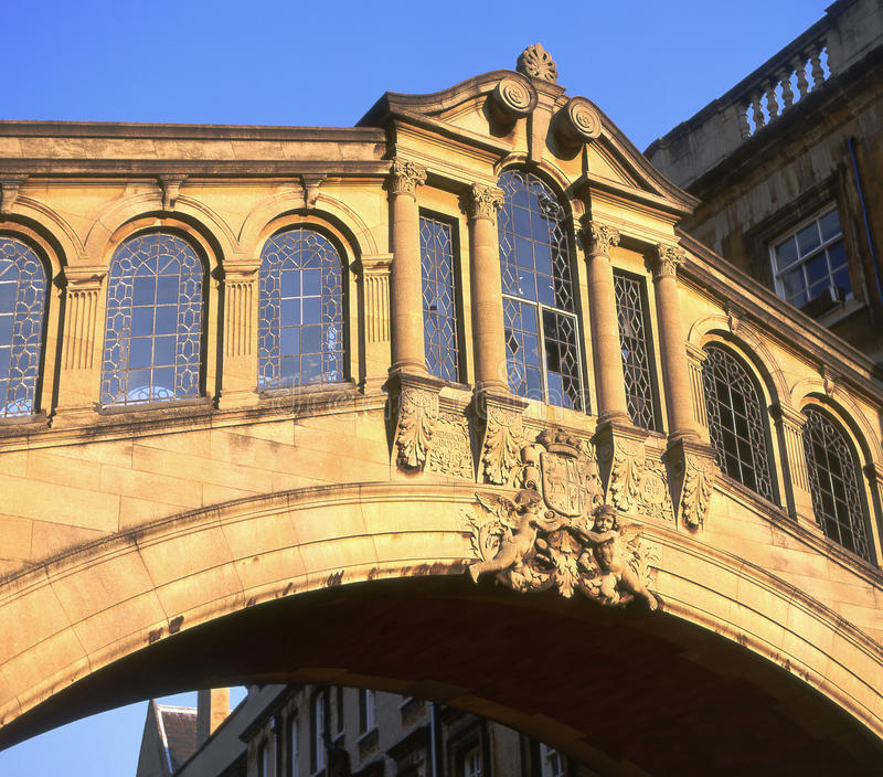 Download Bridge Of Sighs. Oxford, England Stock Image - Image of famous, stone: 16369399