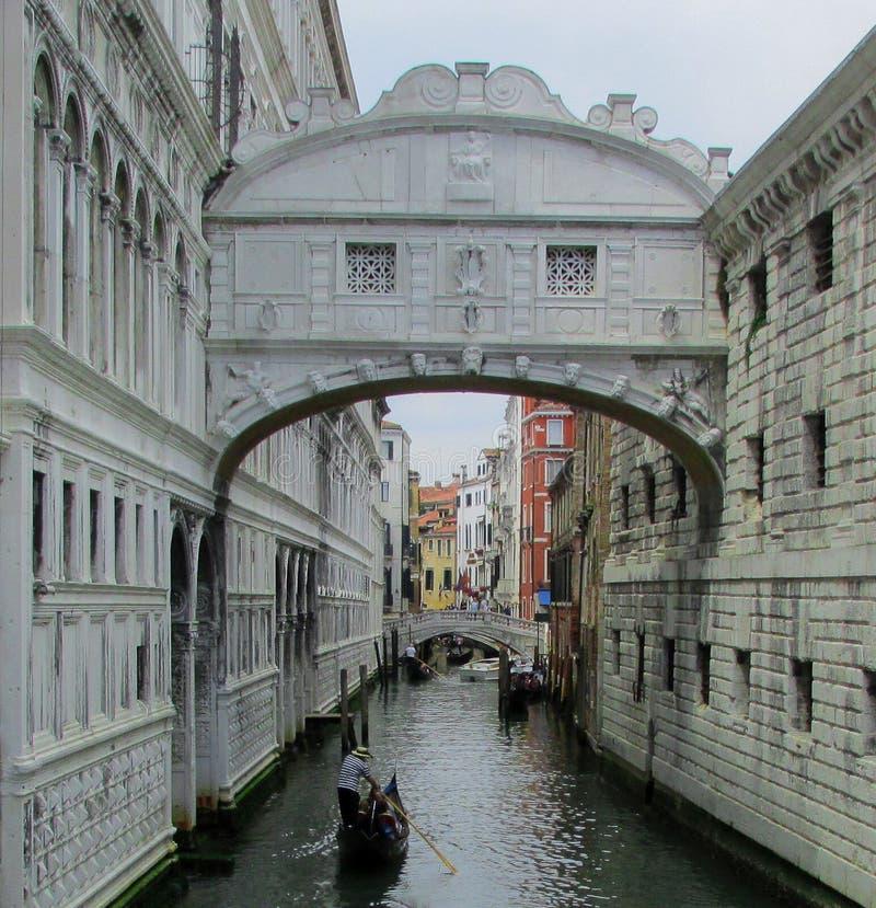 Bridge of Sighs, Ponte dei Sospiri, Venice Italy royalty free stock photos