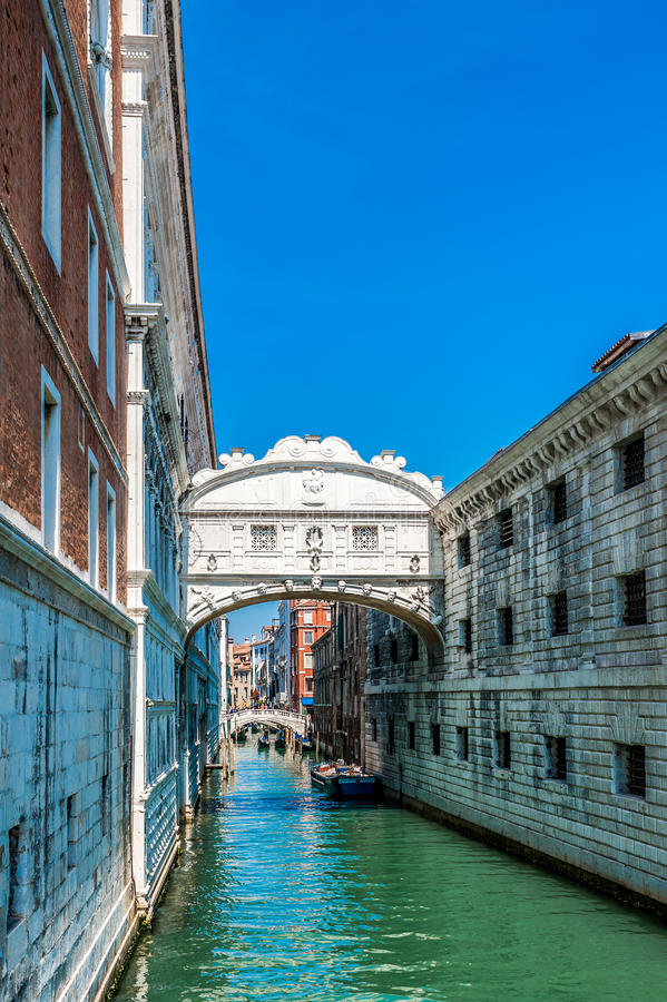 Download Bridge Of Sighs - Venice, Italy Stock Image - Image of europe, vacation: 24625553