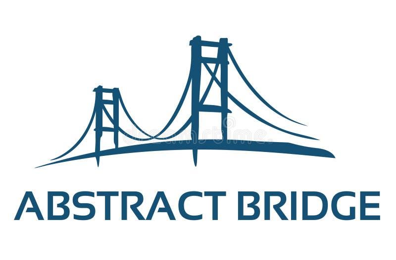 Bridge Sketch Abstract royalty free stock photos
