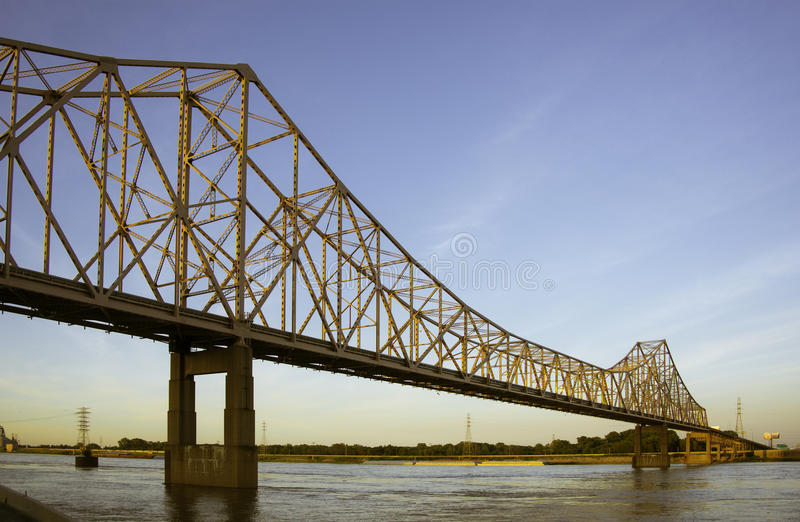 Bridge in St. Louis royalty free stock photography