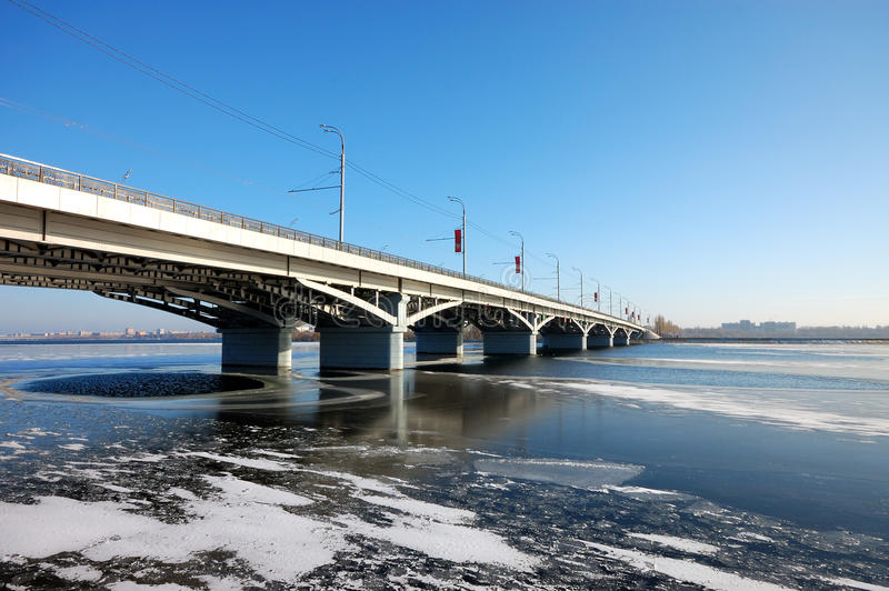 Download Bridge on storage pond stock photo. Image of bridge, water - 12165232