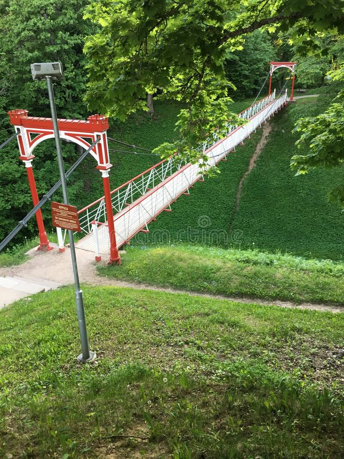 Bridge tallin estonia stock photography
