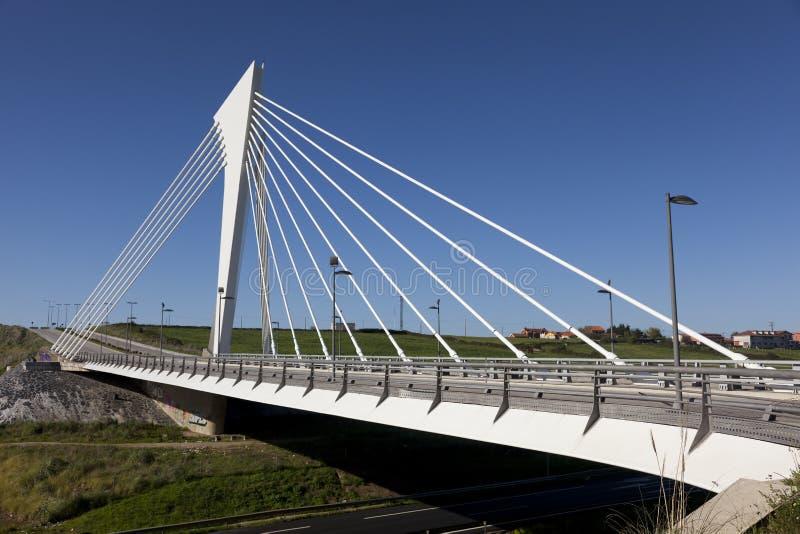 Bridge of technological park, Santander. Cantabria, Spain stock images