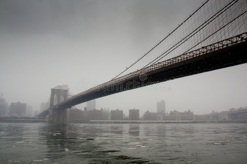 Download Bridge To The City (Brooklyn Bridge) Stock Image - Image: 9231735