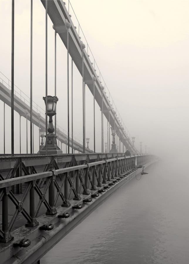 Bridge to nowhere stock photo