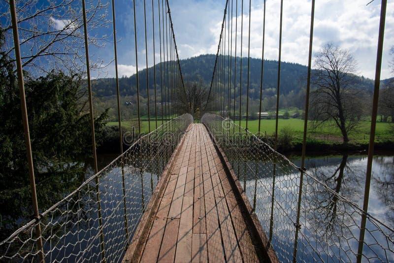 Bridge to somewhere stock photo
