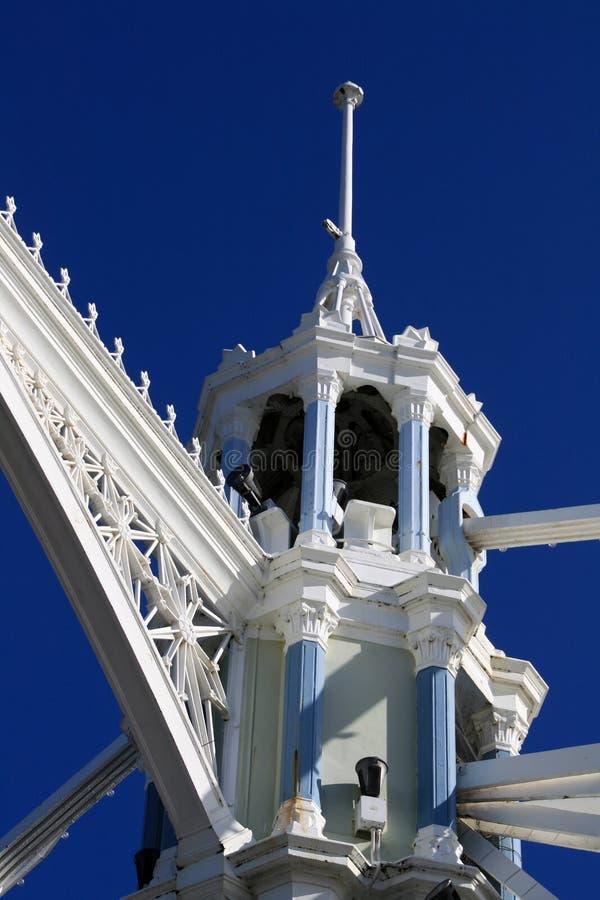 Bridge Tower Detail Royalty Free Stock Photography