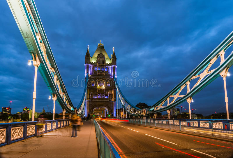 Bridge Tower night view royalty free stock photo