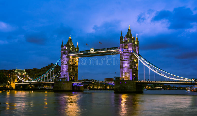Bridge Tower night view royalty free stock photos