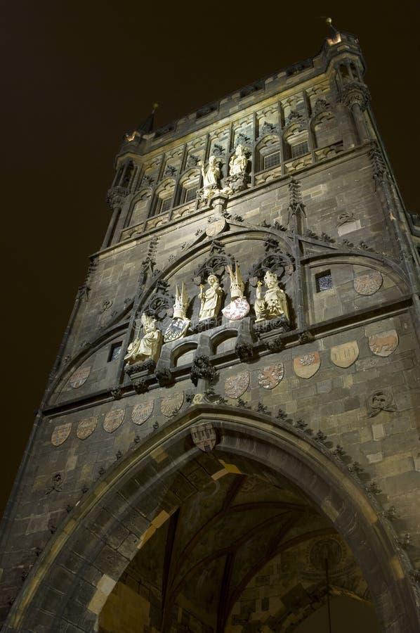 Download Bridge Tower  in Praguelic stock photo. Image of destinations - 27841104