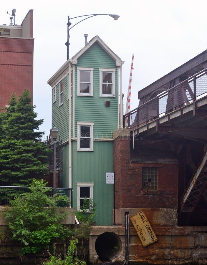 Bridge Towers stock photo