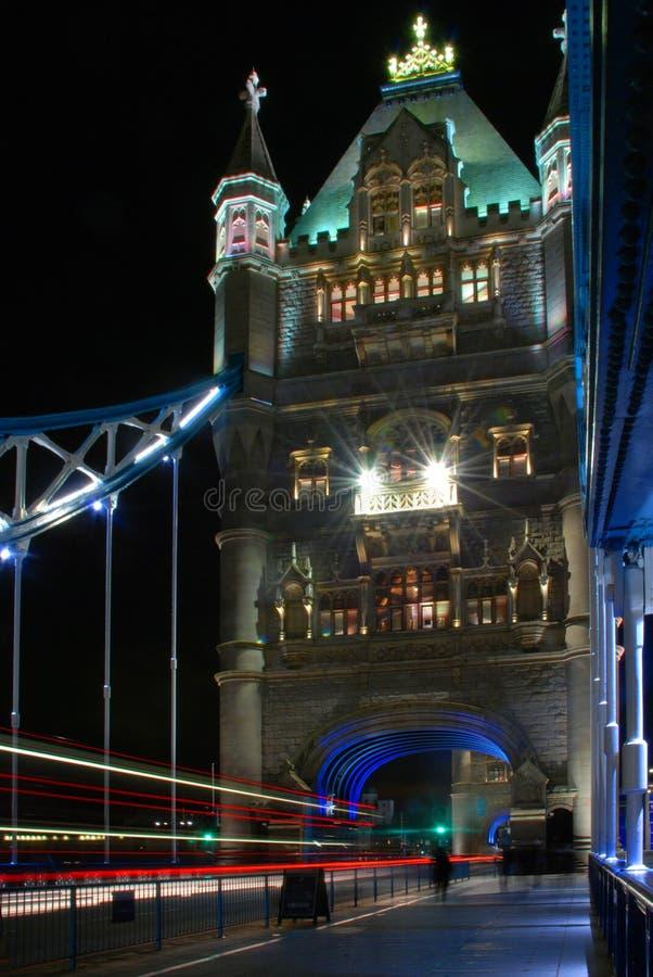 On the bridge royalty free stock image