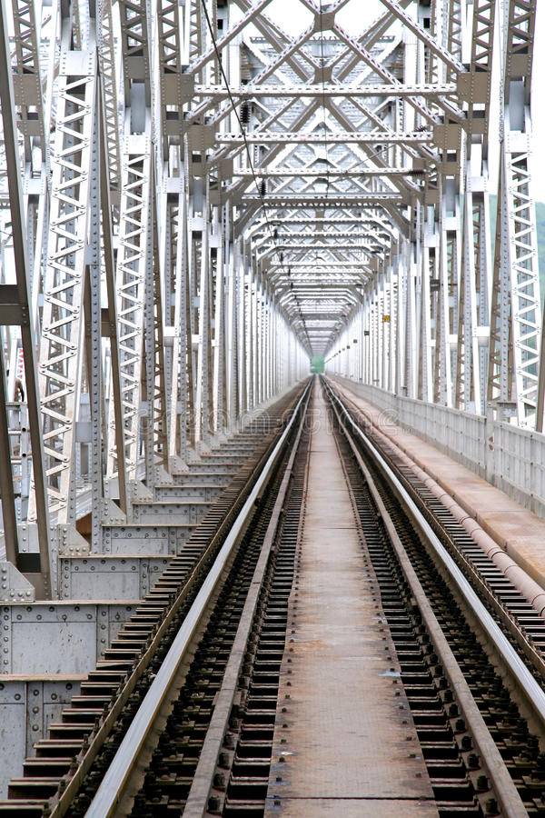 Bridge of Train track royalty free stock photos