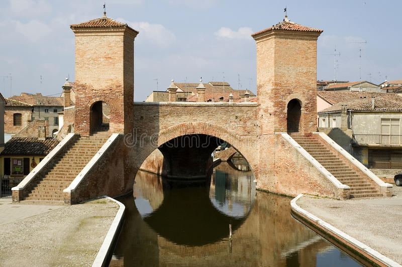 Download Bridge Of Trepponti - Comacchio (italy) Stock Photo - Image: 9714478