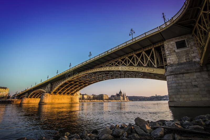 Bridge Under Blue Sky during Daytime royalty free stock photography