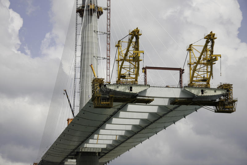 Download Bridge Under Construction Royalty Free Stock Photography - Image: 26557417