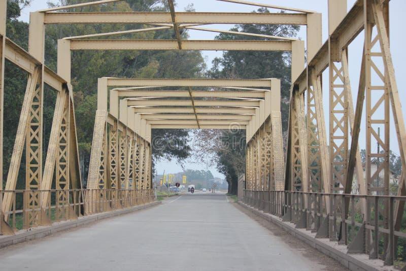 Bridge Uruguay, South America royalty free stock image