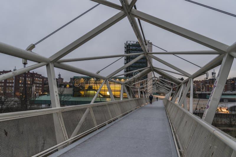 Bridge Valladolid stock image