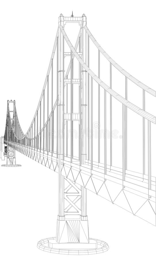 Download The Bridge Vector 05 Royalty Free Stock Photo - Image: 32038685
