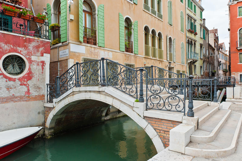 Download Bridge in Venice stock photo. Image of historical, window - 25467564