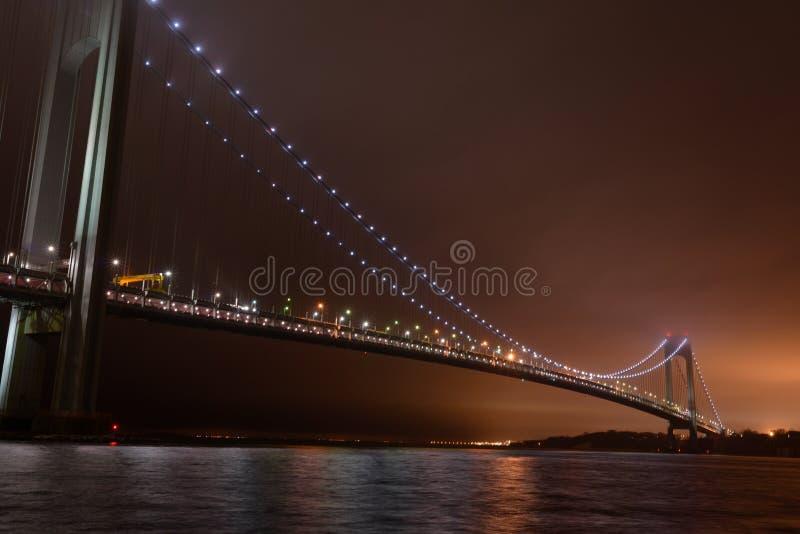 bridge verrazanoen royaltyfri foto