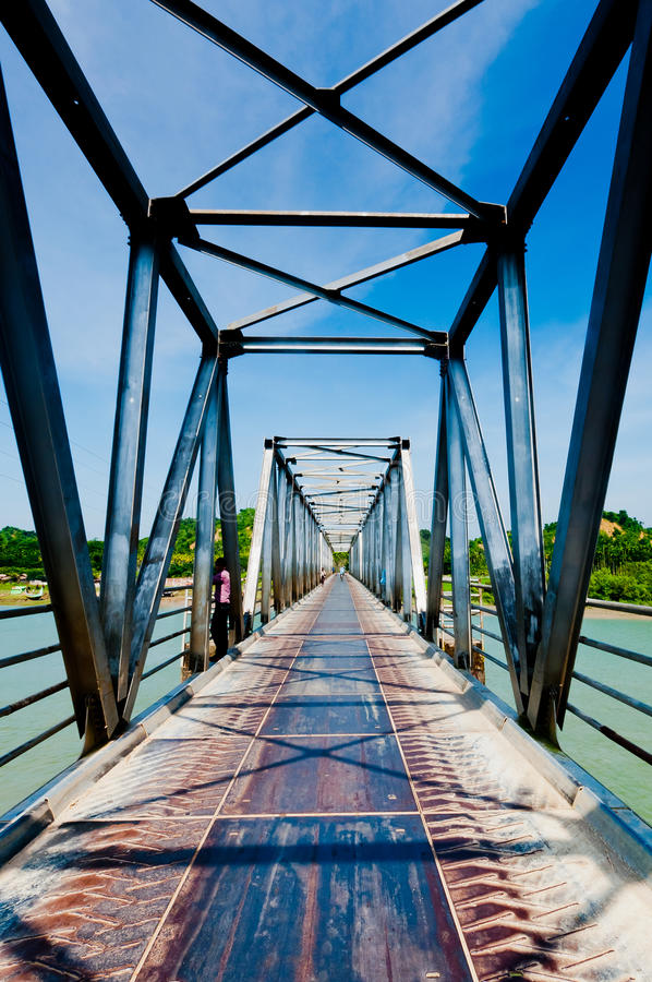 Download Bridge view stock photo. Image of little, built, bicycle - 25744786