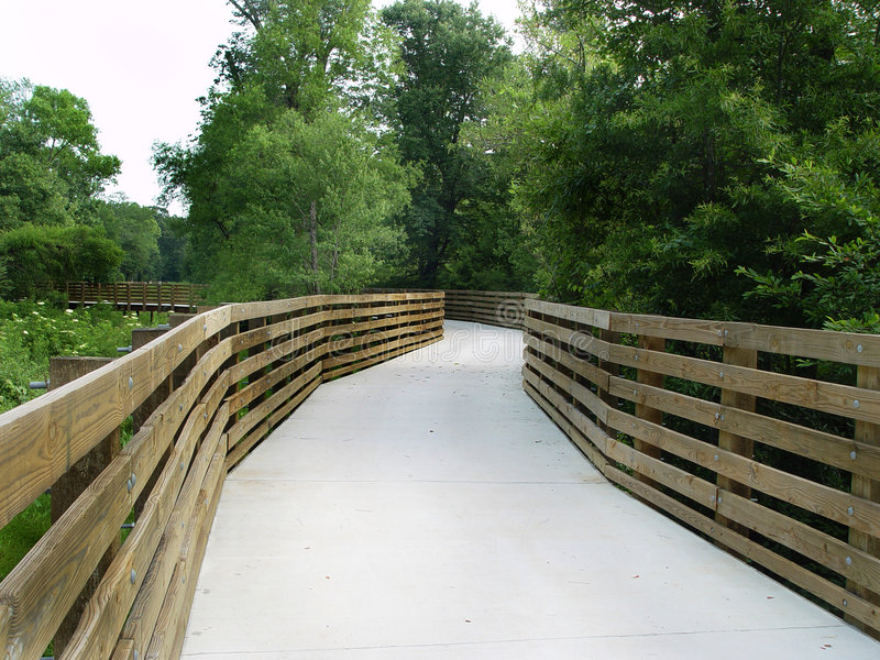 Download Bridge Walkway stock image. Image of wood, curve, nature - 150275