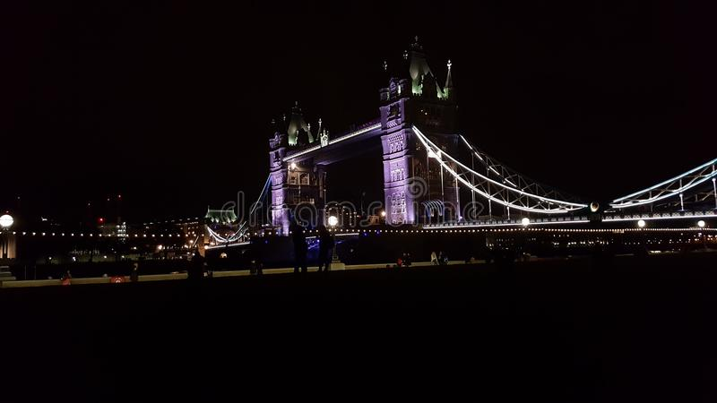 bridge1 wieży obraz stock