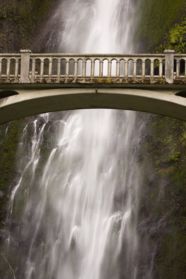 Free Bridge With Waterfall Stock Images - 6260374