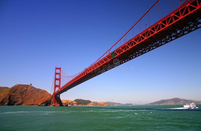 bridge wrót San Francisco złoty obrazy stock
