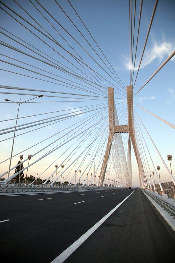 Bridge in wroclaw stock image