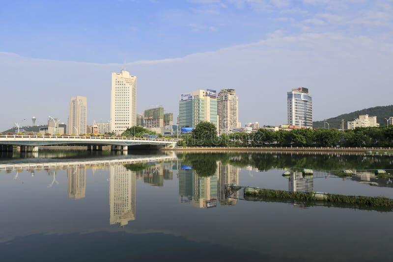 Download Bridge Of The Yuandang Lake Editorial Stock Image - Image: 33476394