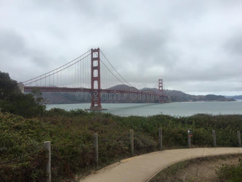 bridge złota brama fotografia royalty free