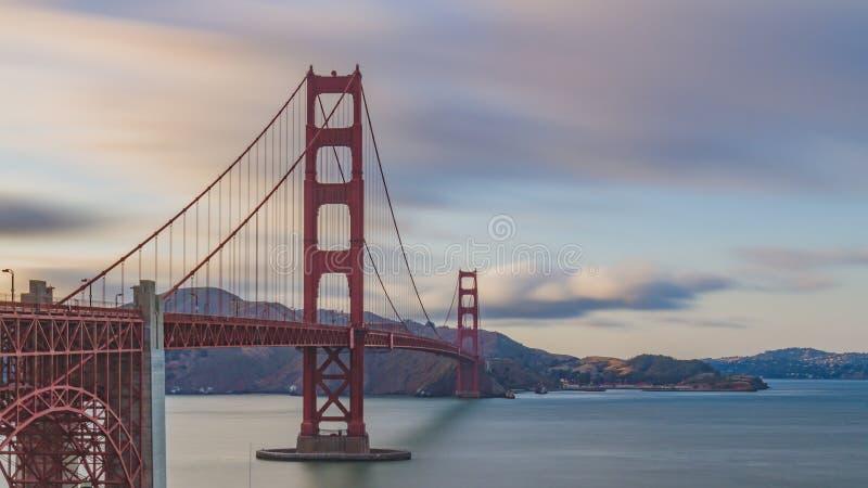 bridge z?ota brama, obrazy stock