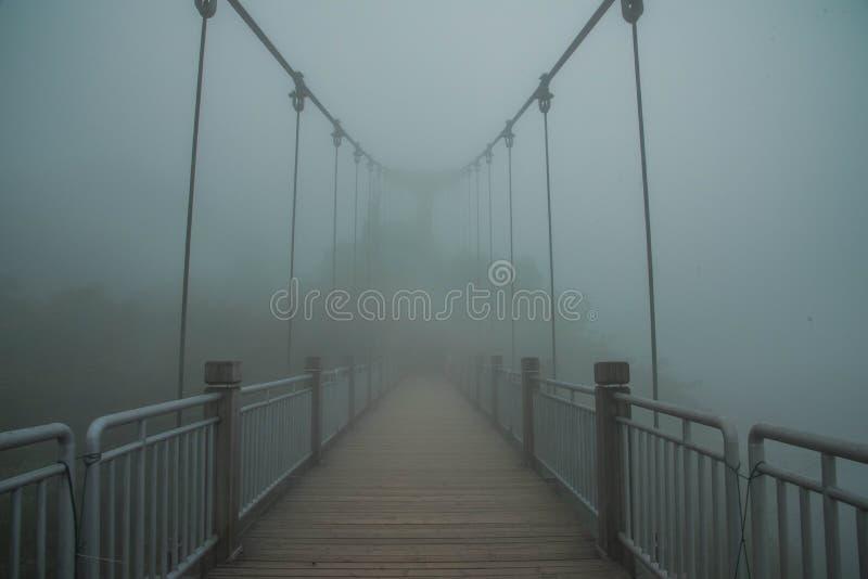 Bridge in zhangjiajie stock photo