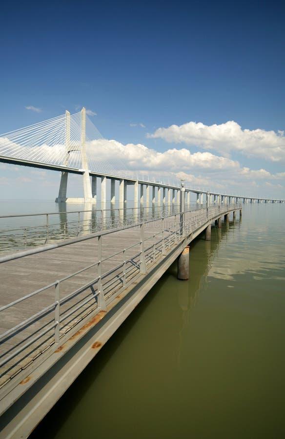 Download Bridges stock photo. Image of gama, vasco, architecture - 2033810
