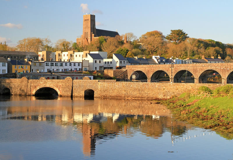 Download Bridges of Neport Town stock image. Image of county, hills - 20796591