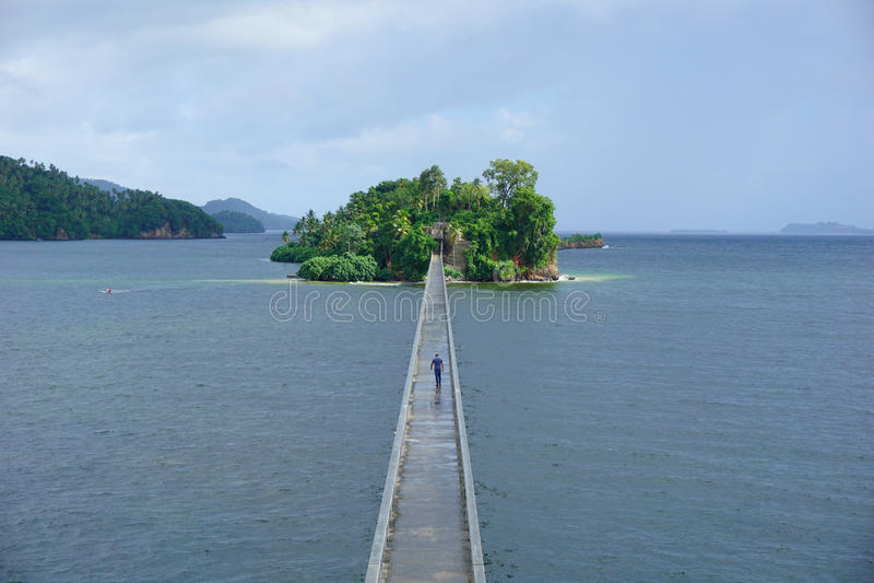 Bridges of Samana stock photos