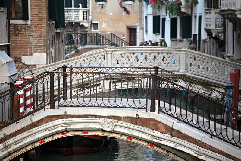 Bridges of Venice royalty free stock image