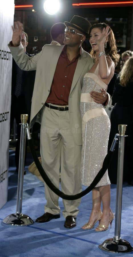 Bridget Moynahan y Will Smith imagen de archivo