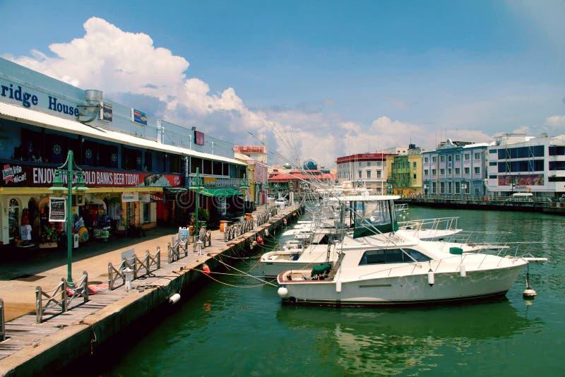 Bridgetown Barbados royalty-vrije stock foto