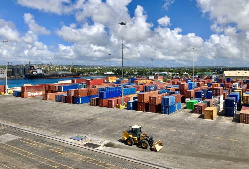 Bridgetown, Barbados fotografering för bildbyråer
