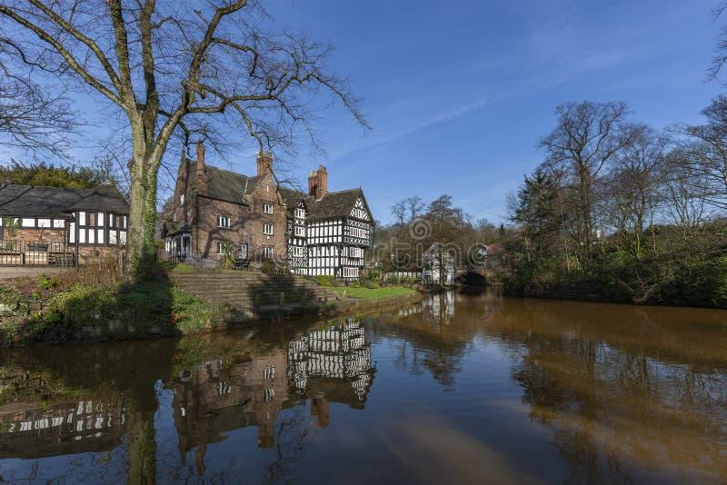 Bridgewater Canal - Manchester - Verenigd Koninkrijk royalty-vrije stock foto